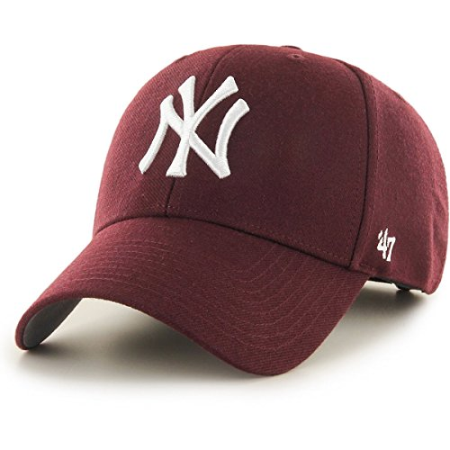 ('47 Brand New York Yankees MVP Cap - Dark Maroon)