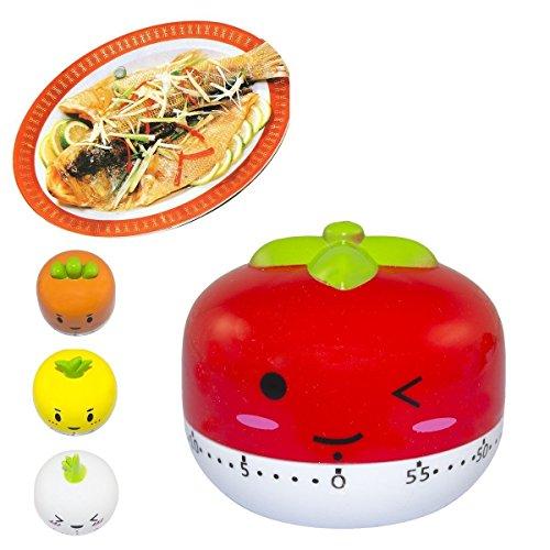 60 Minute Timer (Tomato Shown)