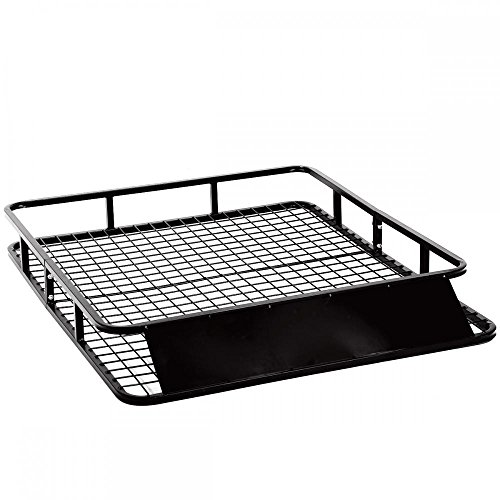 Cargo Carrier Basket Universal Roof Rack basket Holder Travel Car Top Luggage Carrier Cargo