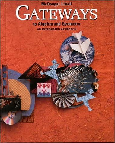 Amazon gateways to algebra and geometry 9780395771242 gateways to algebra and geometry fandeluxe Choice Image