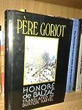 Le Pere Goriot, Honoré de Balzac, 0393036200