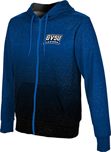 ProSphere Grand Valley State University Men's Fullzip Hoodie - Ombre (XX-Large)