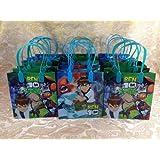 Ben 10 Goodie Bags 12 Pieces