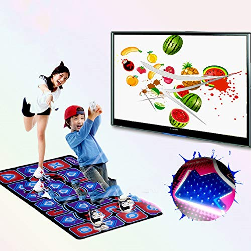QXMEI Projection Sense Massage Dance Mat Double Thick Computer TV Dual-use Game Blanket by QXMEI (Image #5)