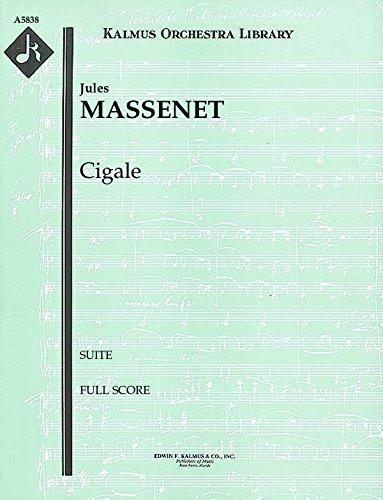 Cigale (Suite): Full Score [A5838] by E.F.Kalmus
