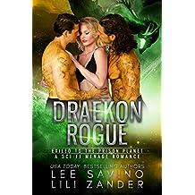 Draekon Rogue: Exiled to the Prison Planet: A Sci-Fi Menage Romance