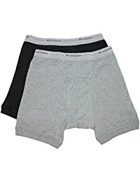 Men's Ribbed Knit Boxer Brief (Pack of 2)