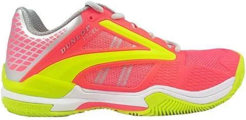 Dunlop Extreme Zapatillas Padel Mujer Coral: Amazon.es: Zapatos ...