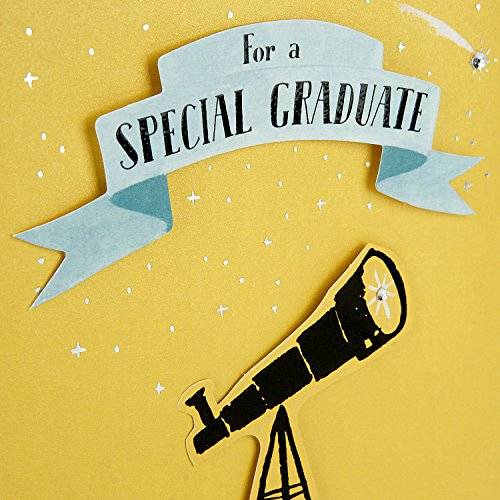 Hallmark Graduation Greeting Card (You're a Unique Gift to the World) Photo #5