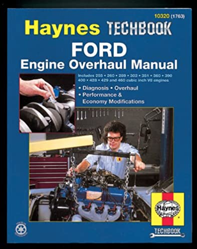 ford v8 engine overhaul manual haynes repair manuals haynes rh amazon com Banshee Engine Overhaul 2C Engine Overhauling Parts