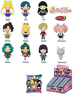 MONOGRAM OFFICIAL Sailor Moon Llavero 3D Serie 3 Box Cerrado ...