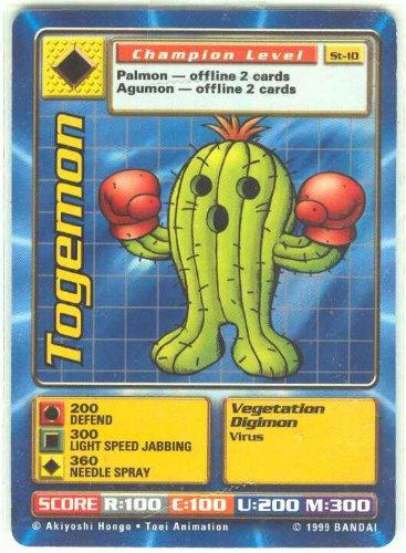 - Digimon Card - Togemon St-10 - Champion Level