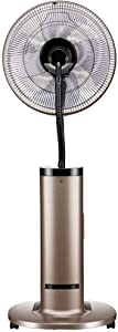 """NSYNSY Fans Heavy-Duty Fan Powerful Standing Pedestal Fan / 50"""" Air Humidifier Misting Fan with Remote Control/Oscillating Fan Cooling Industrial, for Office Residential Greenhouse"""