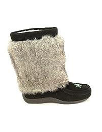 Barbo women's Alisa winter boot faux rabbit fur