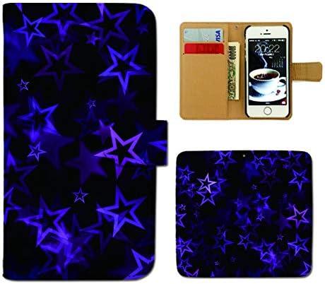 Galaxy S20 5G SC-51A ケース 手帳型 模様 手帳ケース スマホケース カバー アラベスク 幾何学 パターン 星 E0265020111005