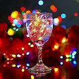 YIHONG 2 Set Multicolor Christmas Fairy Lights