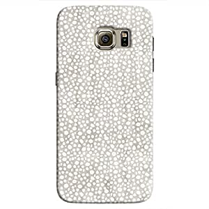Cover It Up - Silver Pebbles Mosaic Galaxy S7 Hard Case
