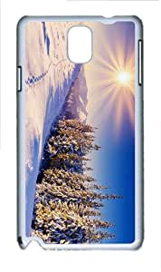 discount covers winter sun PC White case/cover for Samsung Galaxy Note 3 N9000