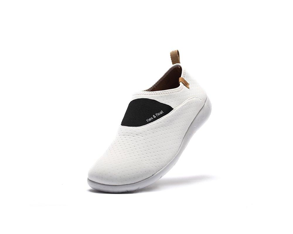 UIN Women's Sintra Lycra Breathable Slip On Shoe B01KLM9RQO 5.5 B(M) US|White