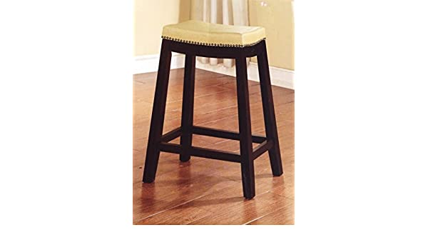 Peachy Amazon Com Allure Saddle Upholstered Counter Stool 24 H Gmtry Best Dining Table And Chair Ideas Images Gmtryco