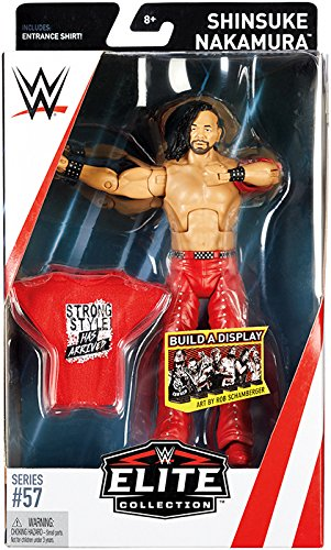 WWE Elite Collection Series # 57 Shinsuke Nakamura Action Fi