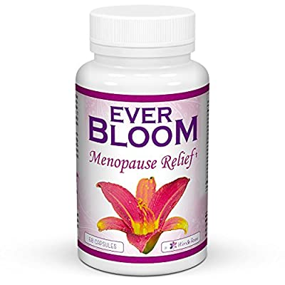 Menopause Relief Herbal Supplement For Hot Flashes, Mood Swings & Libido - Natural Horomone Balance Estrogen Pills - DIM, Black Cohosh & Vitamin D, E, B Passion Flower & Red Clover - Feminine Therapy