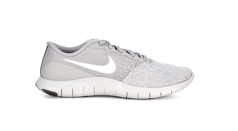 NIKE Women's Flex Contact Running Shoe B078Z1QHTT 7.5 B(M) US|Wolf Grey/ White-pure Platinum-cool Grey