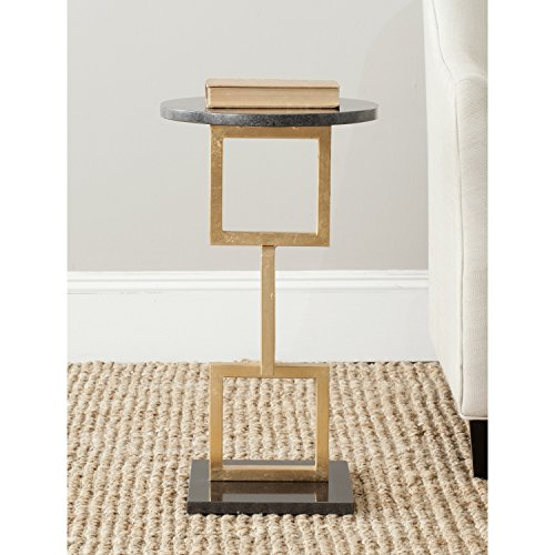 (Safavieh FOX2531A Home Collection Cassidy Accent Table, Gold)