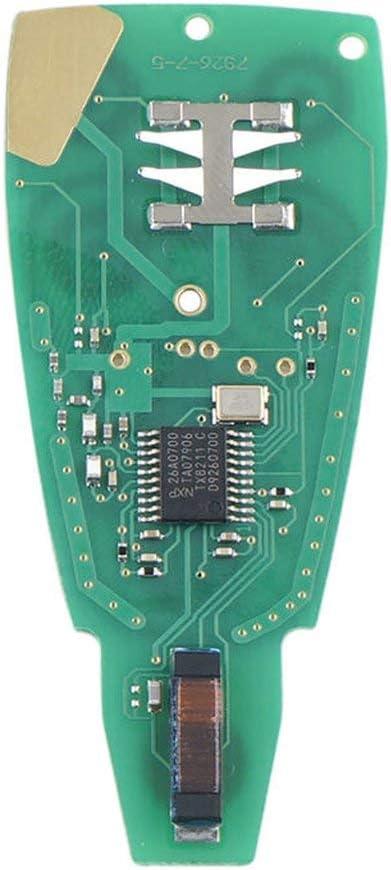 ITjasnyfall per 2013-2018 Dodge RAM Key FOB 4 Chiavi GQ4-53T 433 frequenza Telecomando per Auto Portachiavi Nero