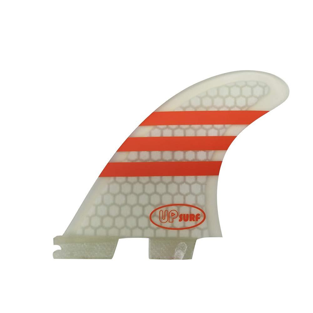 Fibra de Vidrio UPSURF Tabla de Surf FCS II Aletas G5//G7 Tres Aletas Panal