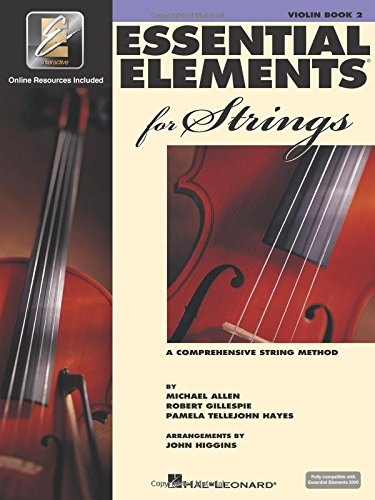 Essential Elements for Strings - Book 2 with EEi: Violin ()