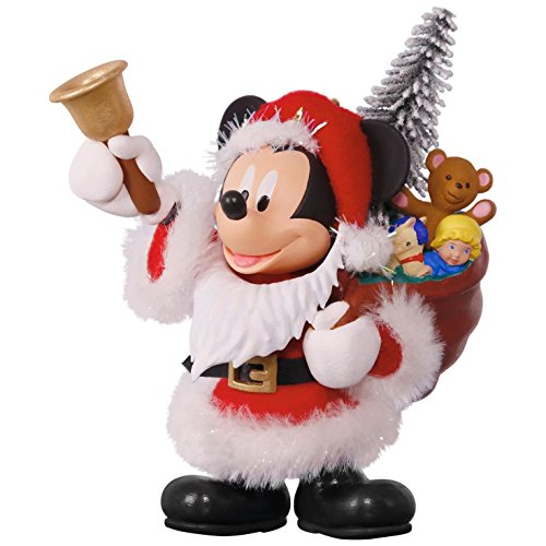 Hallmark Keepsake 2017 Disney Mickey Mouse Here Comes Santa! Christmas Ornament (Santa Comes Here)