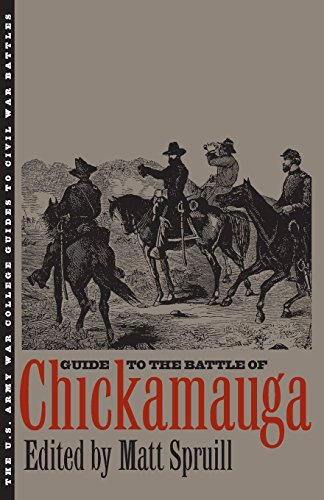 Guide to the Battle of Chickamauga (The U.S. Army War College Guides to Civil War Battles)