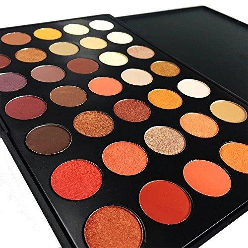 DE'LANCI 35 Color Waterproof Eyeshadow Makeup Palette Set