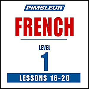 French Level 1 Lessons 16-20 Speech