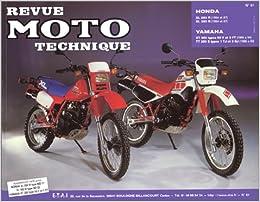 revue technique yamaha 600 xte