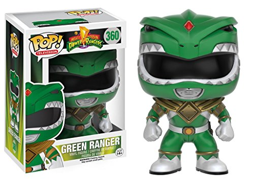 Funko POP TV: Power Rangers - Green Ranger Action Figure ()