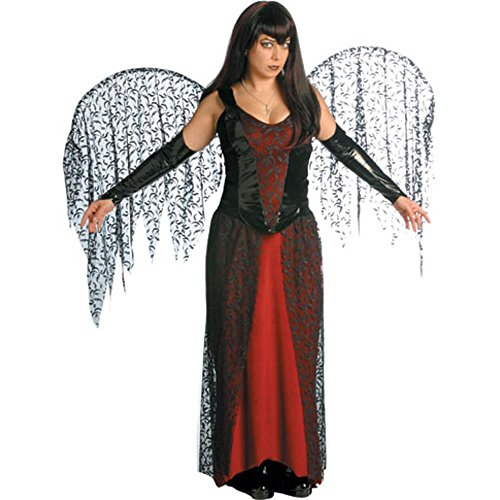 (Goth Fairy Adult Halloween Costume Size 6-12)