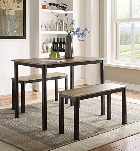 Boltzero Dining Table with 2 Benches
