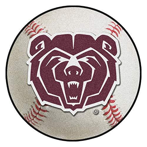 - FANMATS NCAA Missouri State (SW) Bears Nylon Face Baseball Rug