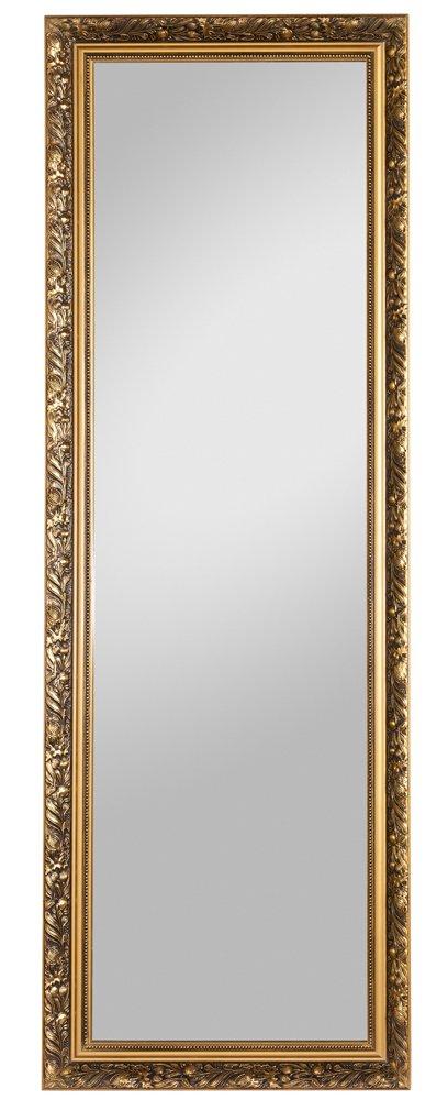 Beauty.Scouts Wandspiegel Dekospiegel Holzrahmenspiegel Taylor Gold (HxB) (HxB) (HxB) 150x50 cm c21fca