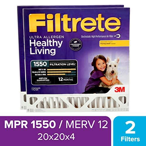 honeywell filter 20x20x4 - 5