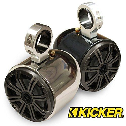 Monster Tower Kicker Single Barrel Speakers - 2.5
