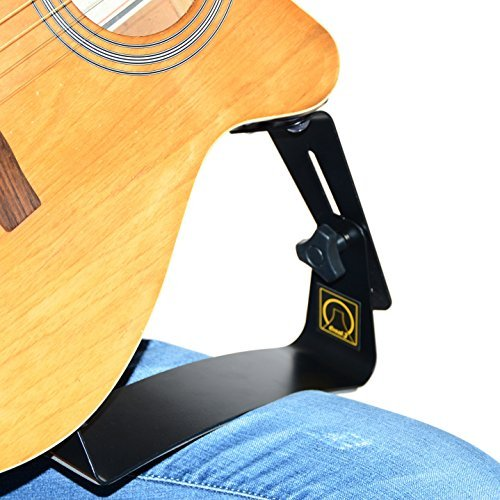 Dynarette Guitar Cushion - Creat.J Acoustic Guitar Support【Foot rest】Angle height adjustable the best position