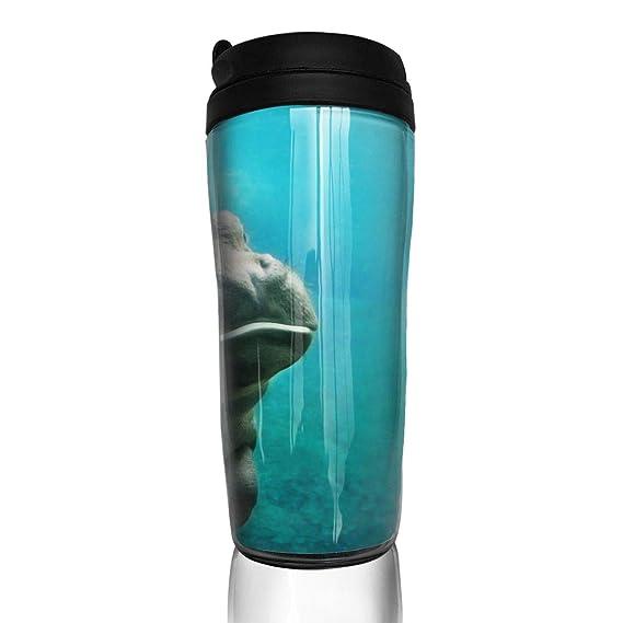 Amazon.com: POOPEDD Funny Monkey Coffee Cup Transparent ...