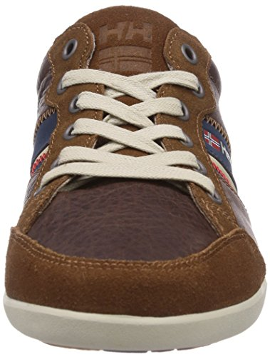 homme Helly basses Kordel Cornstalk 474 Blue Evening Hansen Marron Sneakers Leather 1qX1Oxwr