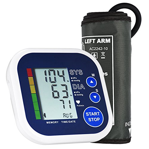 Blood Pressure Monitor, Upper Arm Blood Pressure Monitor for Home Use with...