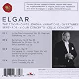 Image of Elgar: The 2 Symphonies / Enigma Variations / Overtures / Serenade / Violin Concerto / Cello Concerto