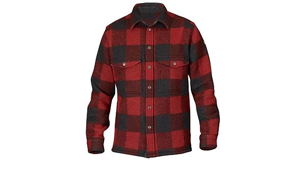 Fjällräven Canada - Camisa para hombre, estilo leñador Red ...