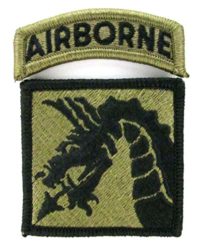 18Th Airborne Corps Ocp Patch With Airborne Tab   Scorpion W2
